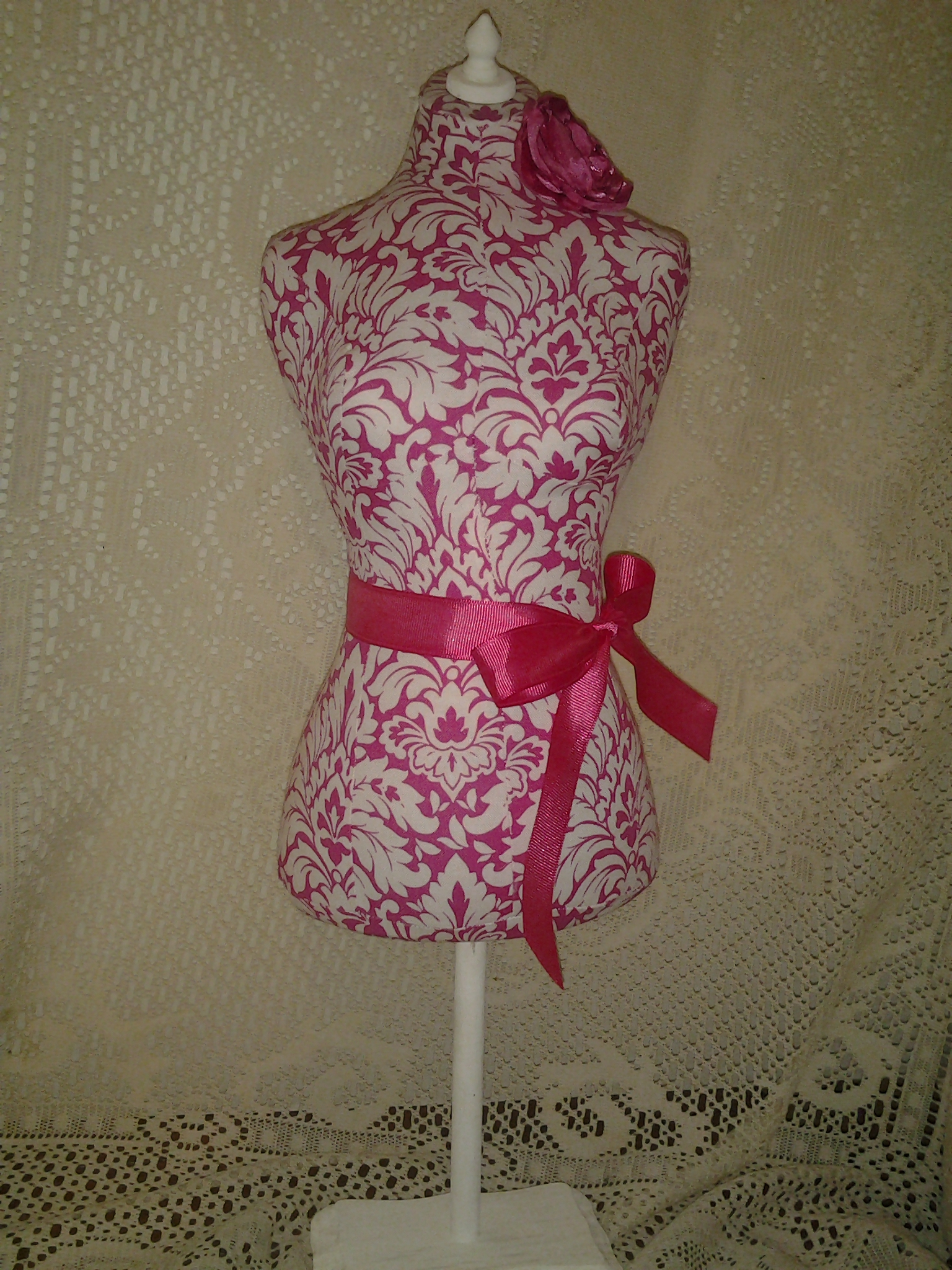 Boutique Dress Form Designs Jewelry Display 22 Inches Pin Cushion